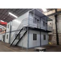 Wholesale Environmental Friendly Prefabricated Shipping Container House For Labor Camp / Office / Workers Accommodation from china suppliers