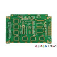 Wholesale Multilayer Rigid Pcb Power Board 6 Layers ENIG Finish Surface Treatment from china suppliers