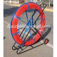 Reels for continuous duct rods