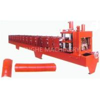 China Red Color Smart Sheet Metal Forming Equipment With High Capacity Manual Uncoiler on sale