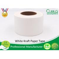 Wholesale White Waterproof Gummed Self Adhesive Kraft Paper Tape Water Activated Tape from china suppliers