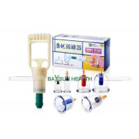 China KZ-B6 Kangzhu Cupping Set 6 cups Traditional Chinese Vacuum Cupping Set for sale
