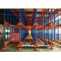 Wholesale Powder Coating Pallet Runner System , Automated Racking System High Pallets Turnover Efficiency from china suppliers