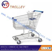 Wholesale 100L Unfolding Zinc Planting Retail Shopping Trolley With Wheels from china suppliers