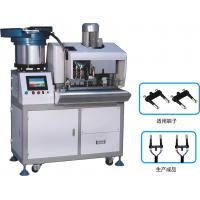 Wholesale Euro 2 Pin Automatic Plug Strip And Insert Machine , Fully Automatic Crimping Machine from china suppliers