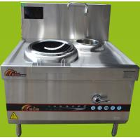 Wholesale Commercial Single Wok Burner , SINGLE TANK SINGLE BASKET FRYER (ELECTRIC) Large Deep Fryer SUS 304 S / S Material from china suppliers