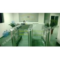 Quality High Security Flexible Smart Supermarket Swing Barrier Gate School IR Sensor Turnstile for sale