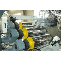 China High Tension Fireproof Conical Pvc Sheet Production Line 0.5 - 2mm Sheet Thickness on sale