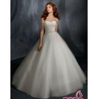 Wholesale All Handmade Beading Ball Gown Bridal Gown / Wedding Dress Silhouettes with Beading Sash from china suppliers