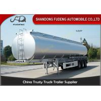 Spring suspension 55000 Liters fuel tanker FUWA axles 12 tires