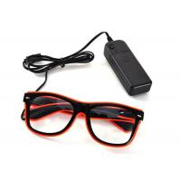 Quality Blinking Glasses Light Up Flashing LED Glasses El Wire for Party Concert for sale