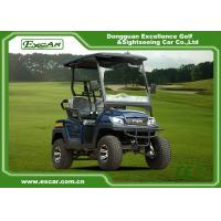 China Customized 2 Seater Electric Golf Carts , 48v 17ah Onboard Charger on sale