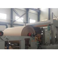 China Fast Liner Kraft Paper Making Machine 15 - 750T / D Capacity Gas Pressure on sale