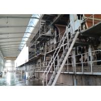 China Recycled Carton Corrugated Paper Making Machine Fire Resistant Double Face on sale