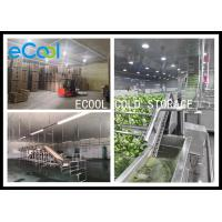 Polyurethane Panel Multipurpose Cold Storage For Vegetable Environment Protective for sale