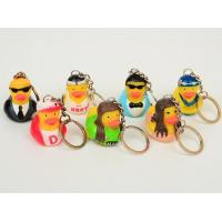 Wholesale OEM Singer / Swan Character Mini Duck Keychains Toy BPA Free Vinyl Material Kechain Duck toy from china suppliers