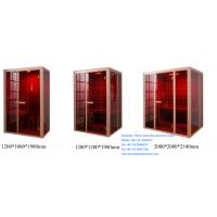 Wholesale 1200mm x 1000mm x 1980mm Far Infrared Sauna Cabin from china suppliers