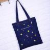 custom High quality foldable shopping bag Environmentally friendly reusable shopping cloth bag Denim shopping bags for sale