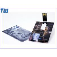 China ABS Swivel Credit Card 32GB Pen Drives Pocket Carry with Name Cards for sale