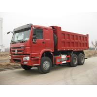 Wholesale HOWO 6 X 4 Heavy Duty Dump Truck , Single Row Cab LHD Tipper Truck from china suppliers