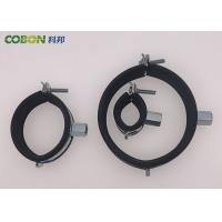 China Screw Hooks Colored Rubber Pipe Clips Iron Sheet With Plastic Expansion Anchor for sale