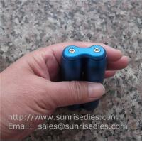 Quality Stress Relief Fidget Toy, CNC milled aluminum alloy roller stick anodized colors for sale