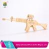 Cotowins 3d wooden puzzle model mini cap kids toys guns for sale