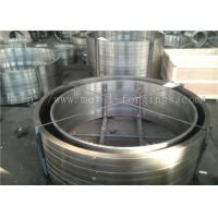 Wholesale EN10084 18CrMo4  DIN 1.7243 ASTM A572 Grade12 Gr11 Forged Ring Bar Machined from china suppliers