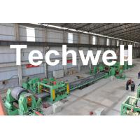 Wholesale 0.3 - 3.0mm / 0.5 - 3.0mm Steel Coil Cut To length Machine Line With Auto Stacker System from china suppliers