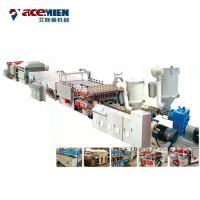 China PP PE Plastic Corrugated Hollow Sheet Making Machine , Plastic Sheet Extrusion Line on sale