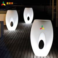 Wholesale White Outdoor Lawn And Garden Decor Polyethylene Egg Shape Flower Pot from china suppliers