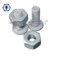 Wholesale Bolt Guard Rail Bolts ASTM A307 GradeA With Guard Rail Nuts SAE J995 Grade2 from china suppliers