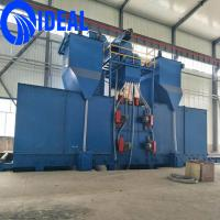 Buy cheap Strucural steel comprehensive cleaning shot blasting machine in other metal &metallurgy machinery from wholesalers