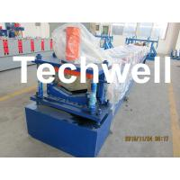 Wholesale Manual / Automatical Decoiler Top Hat Cap / Ridge Flashing Roll Forming Machine from china suppliers