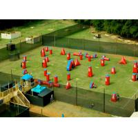 Wholesale Speedball Inflatable Psp Paintball Bunkers / Inflatable Games For Kids from china suppliers