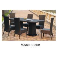 Wholesale 6pcs patio wicker dining chairs -8036 from china suppliers