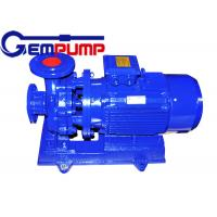 Wholesale Low speed Inline Water Booster Pump ISW Horizontal Pipe ≤ 1.6Mpa Maximum working pressure from china suppliers