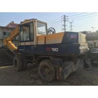 Quality Original japan Used KOMATSU PW150-5 Wheel Excavator For Sale for sale