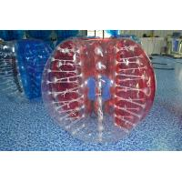 China Kids / Adults TPU Inflatable Bubble Soccer Equipment Clear Or Colorful on sale