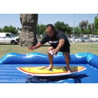 Wholesale Womderful Inflatable Surf Machine , Mechanical Surfing Game For Kids / Adult from china suppliers
