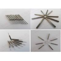 China Straightness Tungsten Carbide Nozzle / Grinding Carbide Needles for Bobbin Winding Machine on sale