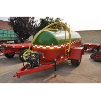 China tractor water tank trailer transport tank trailer with pump for car for sale