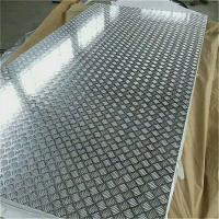 Buy cheap 18 Gauge Chequred Polished Aluminum Sheet , 6061 Aluminum Checkered Sheet from wholesalers