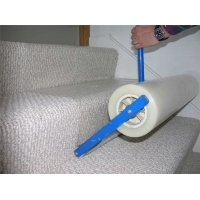 Wholesale Stair 80 Micron 600mm Protection Film Roll Anti Construction Debris from china suppliers
