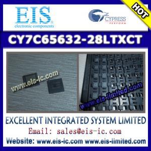 China CY7C65632-28LTXCT - CYPRESS - HX2VL™ Very Low Power USB 2.0 Hub Controller on sale