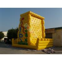 Wholesale Funny Giant Inflatable Sports Games / Climbing Wall For Amusement Park Equipment from china suppliers