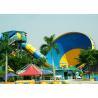 Buy cheap Big Holiday Resort Tornado Water Slide Amusement Water Park Equipments from wholesalers