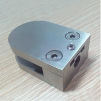 """Quality '""""D"""" Shaped Glass Clamp with flat base for sale"""