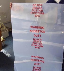 Wholesale PE BUILDING FILM, Asbestos bag, PE asbestos bag, biohazard bag, pe cover film, rubble sack from china suppliers