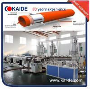Wholesale Overlap Welding PEX-AL-PEX/PPR-AL-PPR Pipe Extrusion Machine from china suppliers